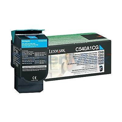 LEXMARK C540 C543 TONER CARTRIDGE CYAN RP 1K